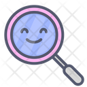 Search smile Icon
