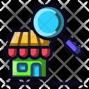 Search Store Market Icon
