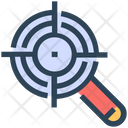 Seo Magnify Glass Target Icon