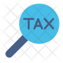 Loupe Search Tax Icon