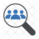Search Find Group Icon