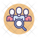 Search Team Schedule Group Cooperation Icon