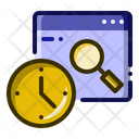 Search Time History Icon