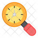 Search Time Search Clock Find Time Icon