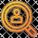 Search User Search Portfolio Icon