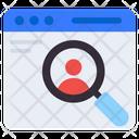 Search User Search Profile Search Man Icon