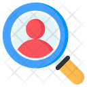 Headhunting Search User Find User Icon