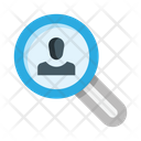 Search User Search Worker Search Job Icon