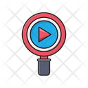 Video Play Search Icon
