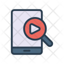 Video Search Mobile Icon