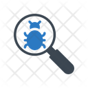 Search Virus Malware Icon