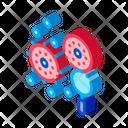Bacteria Germ Health Icon