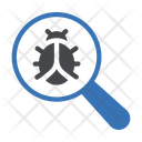 Search Malware Bug Icon