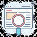 Find Website Internet Technology Search Engine Optimization Icon