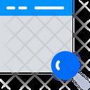Search Web Page Icon