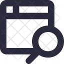 Search webpage Icon