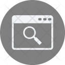 Search Websit Webpage Icon