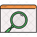 Search Window Webpage Icon