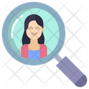 Search Woman Search User User Icon