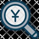 Search Yen Yen Find Icon