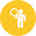 Searching Human Activitiy Icon