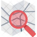 Searching Map Map Exploring Finding Place Icon