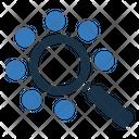 Seo Searching Marketing Icon