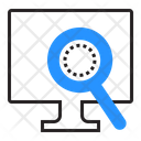 Search Computer Magnifier Icon