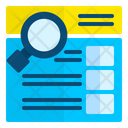 Searching Analytic Search Bar Icon