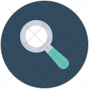Searching Glass Magnifier Icon