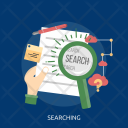 Searching Search Marketing Icon