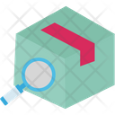 Searching Box Shipping Search Logistics Icon