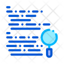 Magnifier Search Code Icon
