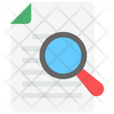 Document File Searching Icon
