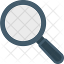 Searching Glass Magnifier Magnifying Glass Icon