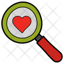 Searching love Icon