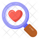 Searching Love Finding Love Exploring Love Icon