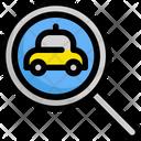Search Taxi Service Icon