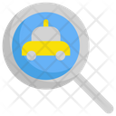 Searching taxi Icon