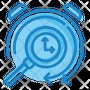 Searching Time Search Time Search Time Management Icon
