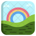 Seascapes Rainbow Cloud Icon