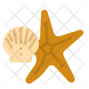 Seashell Star Fish Icon