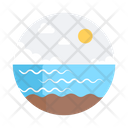 Seashore Seaside Beach Icon