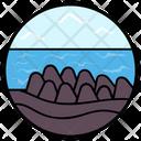 Seaview Seaside Natural Lake Icon