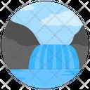 Seaside Beach Ocean Icon