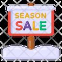 Sale Signboard Sale Board Season Sale Roadboard Icon
