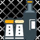 Seasoning Shaker Restaurant Icon