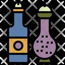 Seasoning Shaking Bottle Salt Shaker Icon