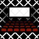 Seat Auditorium Entertainment Icon