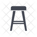 Seat Chair Dine Table Chair Icon